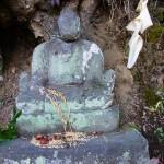 霧島市牧園町持松、竪神社の田の神様