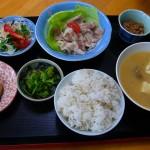 和食の基本は「一汁三菜」