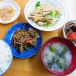 バランスのいい食事が楽しめる霧島市隼人町内山田、「家庭料理の店 きらく」