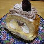 YANAGIMURA 姶良店の「マロンのロールケーキ」