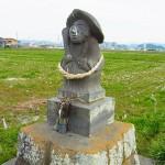 霧島市国分福島の「田の神様」