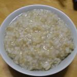 玄米がゆを作る