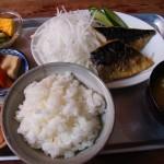 霧島市国分広瀬「やかたぶね食堂」の焼魚定食