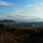 姶良加治木町、高岡公園から見る桜島2015.01.03