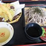 天ぷらざるそばが美味しい、霧島市国分剣之宇都町「そば処 信州庵」