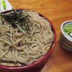 ざるそばが美味い熊本県人吉市二日町、創業明治31年「丸一蕎麦屋」