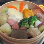 岳ノ湯温泉、ゆけむり茶屋の「ゆけむり定食」