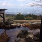 露天風呂からの眺望がいい宮崎県えびの市末永、「白鳥温泉上湯」