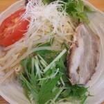 冷しつけ麺がうまい、姶良市平松「麺坊MASU」