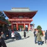 宮崎県日南市宮浦、洞窟の中の神社「鵜戸神宮」