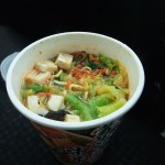 今日のお昼はカップ麺「蒙古タンメン 中本」2017,03,16