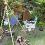 枕崎「火之神公園キャンプ場」ソロキャンプ2017.04.29-30