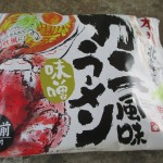 藤原製麺の「本場北海道 カニ風味ラーメン」を食す