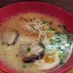 枕崎市立神本町「麺遊記」で男前がっつりニンニクらぁめんを食べる