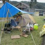 肝属郡錦江町神川キャンプ場、2017.11.25-26  ソロキャンプ? おでん