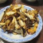 キダカの干物「かりぽり」を食す 2018.02.07
