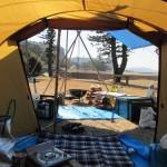 錦江町「神川キャンプ場」ソロキャンプ 2018.02.17-18  大根のごった煮