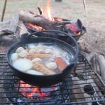 肝属郡東串良町川東「ふれあいの森キャンプ場」2019.01.19-20  ソロキャンプ&おでん