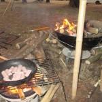 肝属郡東串良町川東「ふれあいの森キャンプ場」2019.02.09-10 節約ソロキャンプ 山羊汁