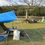 南九州市知覧町東別府「山なぎ公園」ソロキャンプ 2019.03.16-17  鶏刺しとおでん