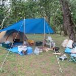 東串良町「ふれあいの森キャンプ場」2019.04.28-29  キャンプ&焼き鳥